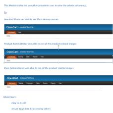 Hide Admin Menus for UnAuthorised Users